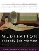 Meditation Secrets for Women Pdf/ePub eBook