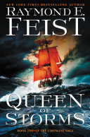 book cover for Queen of Storms by Raymond E. Feist