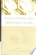 Structured and Modified Lipids Book