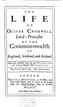 The Life of Oliver Cromwell