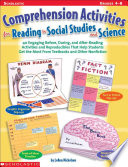 Comprehension Activities For Reading In Social Studies And Science Book PDF