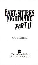Baby Sitter S Nightmare Ii