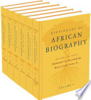 Dictionary of African Biography by  PDF