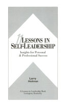 11 lessons in self-leadership