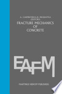Fracture mechanics of concrete  Material characterization and testing