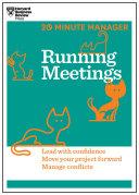 Running Meetings  HBR 20 Minute Manager Series