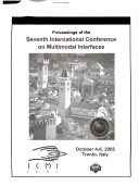 International Conference on Multimodal Interfaces Book