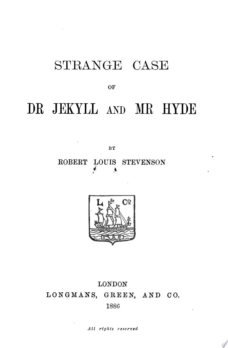 Strange Case of Dr. Jekyll and Mr. Hyde banner backdrop