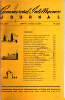 Commercial Intelligence Journal