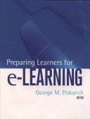 Preparing Learners for e Learning