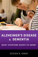 Alzheimer s Disease and Dementia