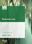 Business Law 2009 2010