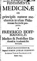 Fundamenta Medicinae