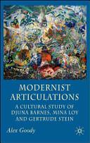 Modernist Articulations