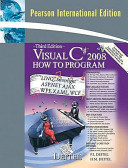 Cover of Visual C# 2008