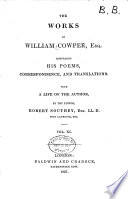The Life and Works of William Cowper