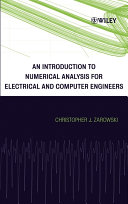 An Introduction to Numerical Analysis for Electrical and Computer Engineers [Pdf/ePub] eBook