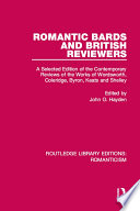 Romantic Bards and British Reviewers