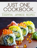 Just One Cookbook - Essential Japanese Recipes Pdf/ePub eBook