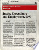 Justice Expenditure And Employment In The U S