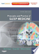 Principles and Practice of Sleep Medicine E Book Book