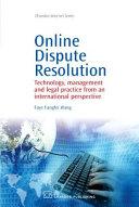 Online Dispute Resolution