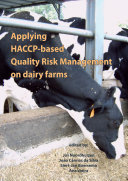 Pdf Applying HACCP-based Quality Risk Management on dairy farms Telecharger
