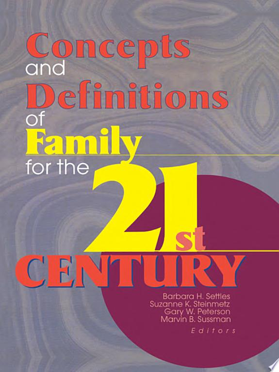 Concepts and Definitions of Family