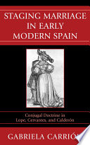 Staging Marriage in Early Modern Spain Pdf/ePub eBook