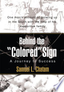Behind the Colored Sign Book