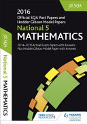 National 5 Mathematics 2016-17 SQA Past Papers with Answers