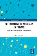 Deliberative Democracy in Taiwan Pdf/ePub eBook