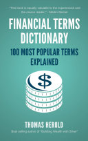 Financial Terms Dictionary   100 Most Popular Terms Explained