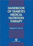 Handbook of Diabetes Medical Nutrition Therapy Book PDF