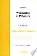 Weathering of Polymers