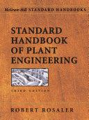 Standard Handbook Of Plant Engineering Book PDF