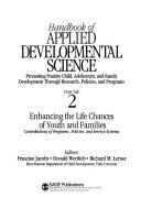 Handbook of applied developmental science: promoting positive child, ...