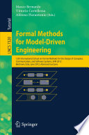 Formal Methods for Model-Driven Engineering