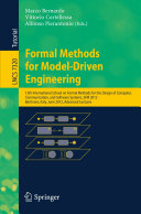 Formal Methods for Model-Driven Engineering