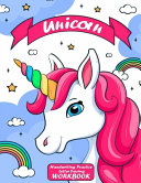 Unicorn Handwriting Practice Letter Tracing Workbook