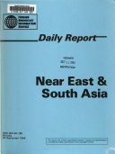 Daily Report: Near East & South Asia