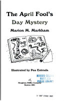The April Fool's Day Mystery ebook