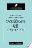 Practical Techniques for Groundwater   Soil Remediation