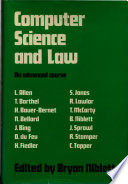Computer Science and Law