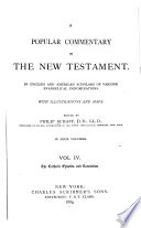 A Popular Commentary on the New Testament