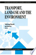 Transport Land Use And The Environment Book PDF
