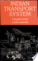 Indian Transport System Book PDF