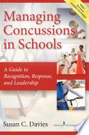 Managing Concussions in Schools Book PDF
