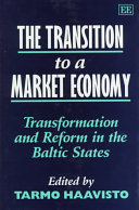 The Transition To A Market Economy Book PDF
