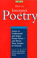 How to Interpret Poetry